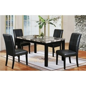 Marble Kitchen Table And Chairs - Foter