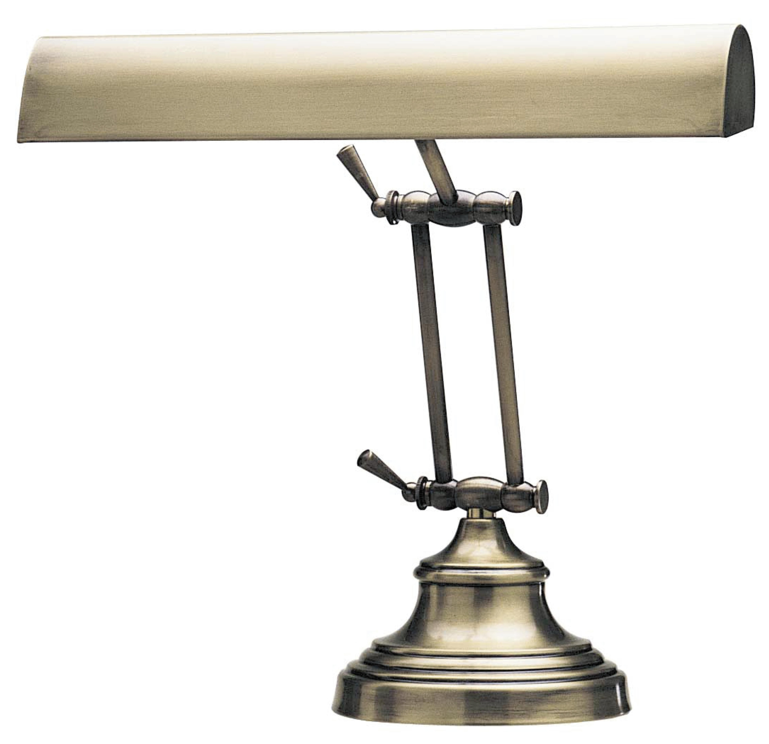"Advent Piano 12"" H Table Lamp with Novelty Shade"