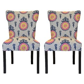 Enjoyable Wingback Dining Chairs Ideas On Foter Download Free Architecture Designs Embacsunscenecom