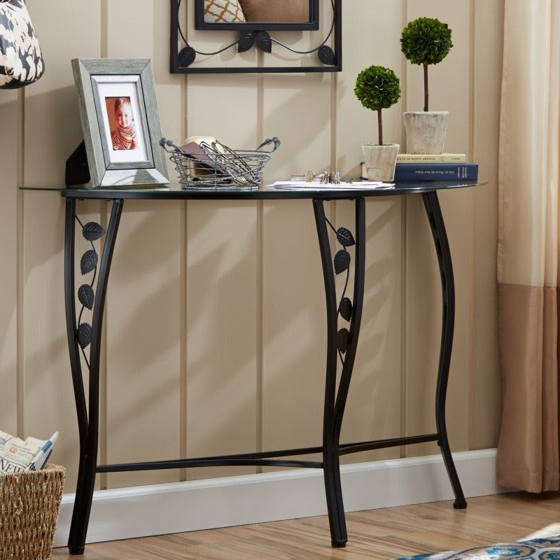 Console Table u0026 Mirror Set & Entryway Table And Mirror Sets - Foter