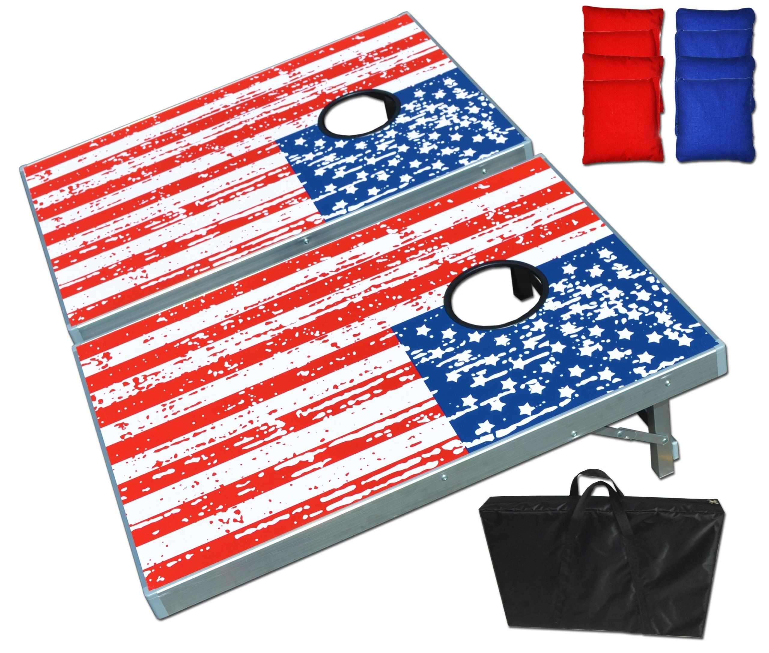 Corn Hole Bean Bag Toss Game Set