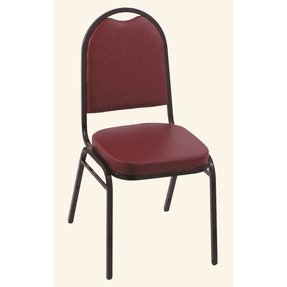 Dome Back Banquet Chair with Cushion