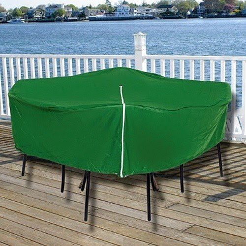 Durable Round Outdoor Patio Set Vinyl Furniture Cover