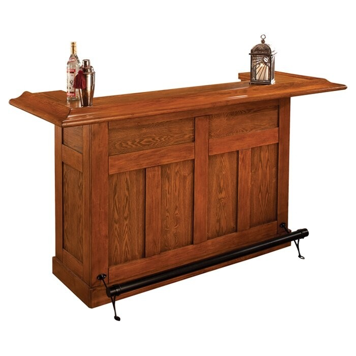 Grady Home Bar with Wine Storage