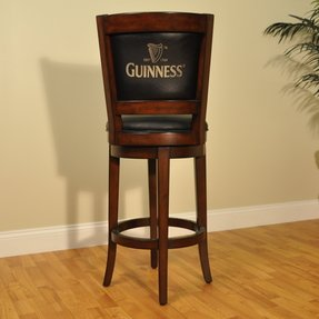Guinness Swivel Bar Stool with Cushion