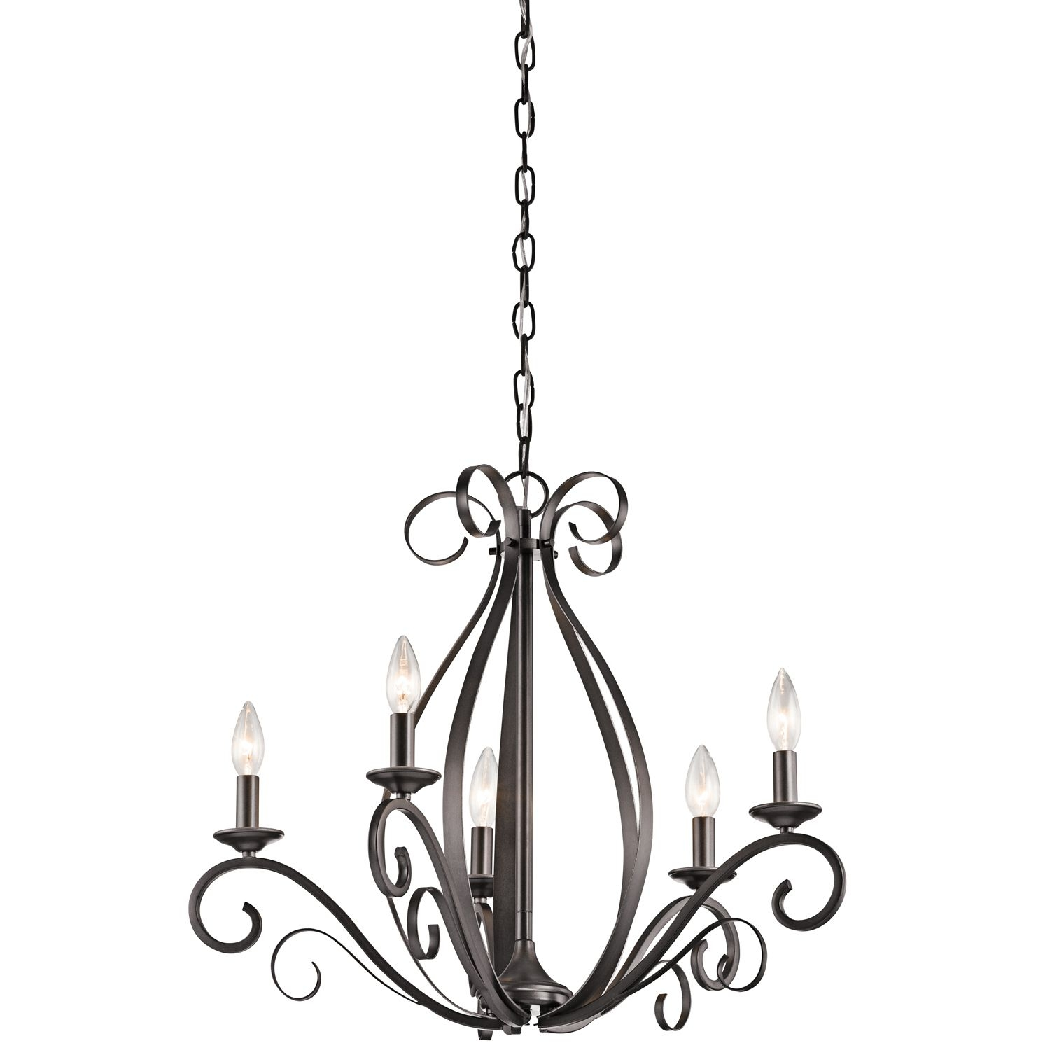 Kambry 5 Light Candle Chandelier