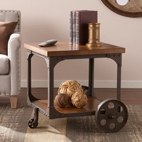 Cast Iron End Tables