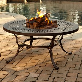 Fire Pit Table With Lid - Foter
