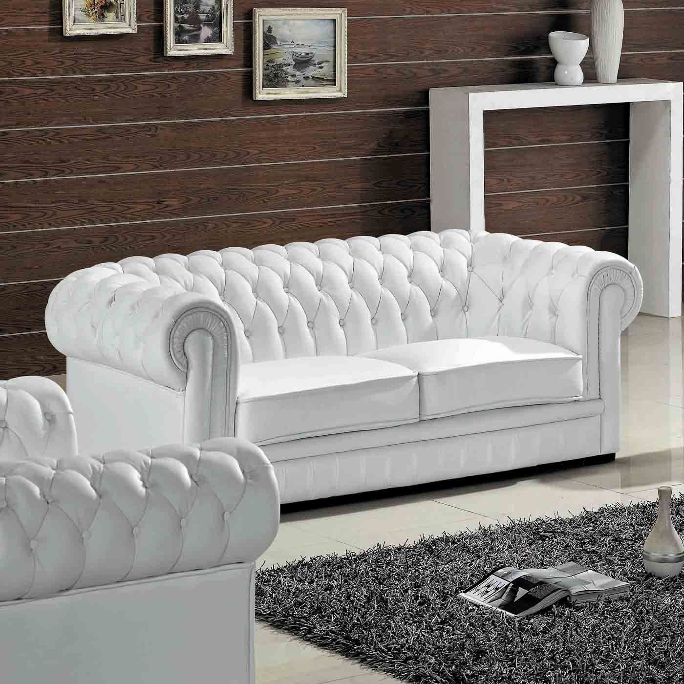 Attrayant Madeline Leather Sofa