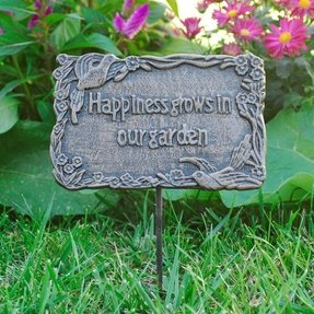 Garden Plaques And Signs Ideas On Foter