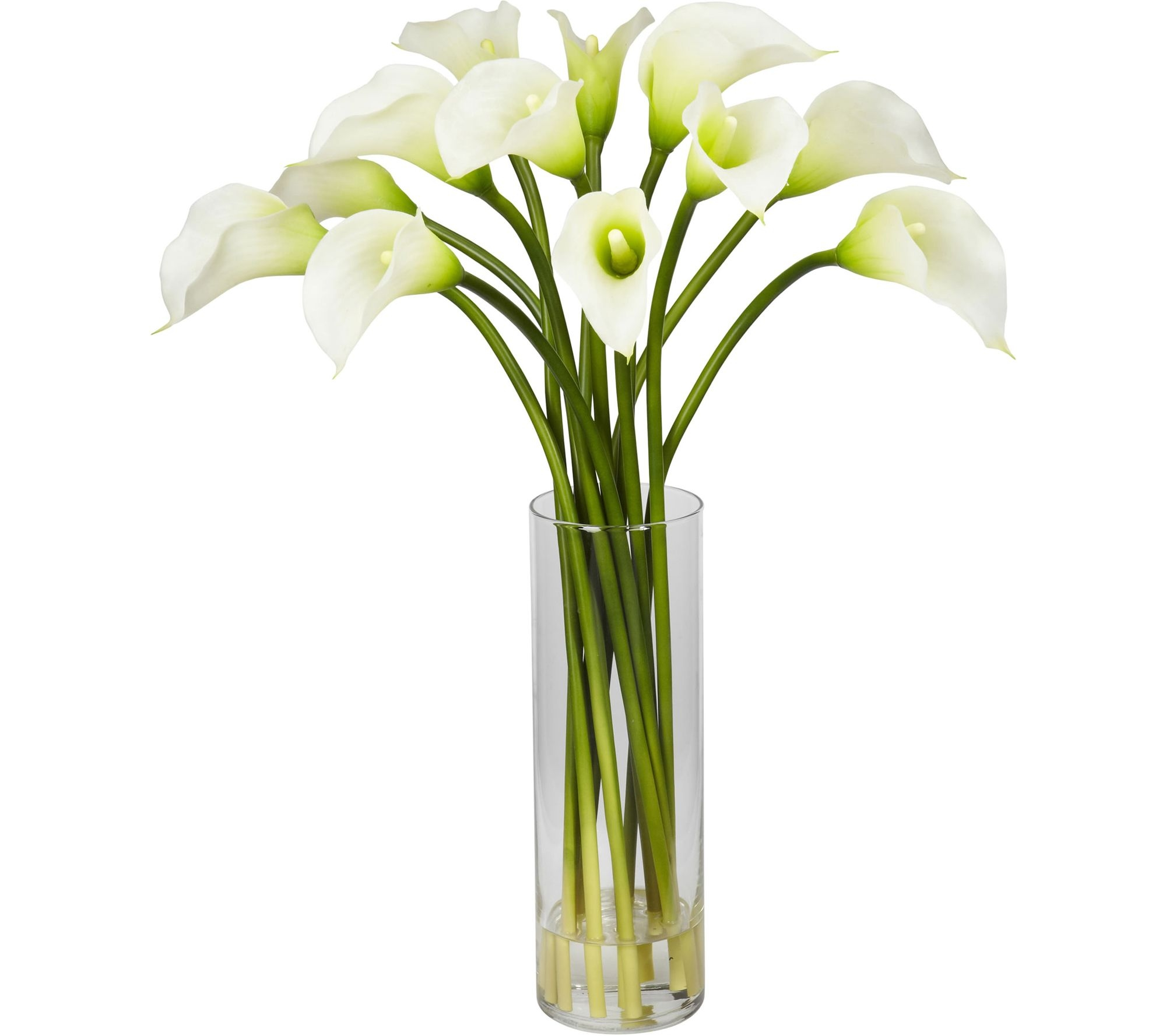 Mini Calla Lily Flower Arrangement in Cream