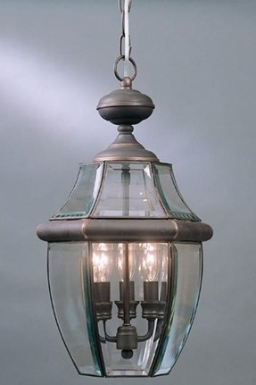 Newbury 3 Light Outdoor Hanging Lantern Pendant