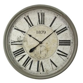 "Oversized 31.5"" Wall Clock"