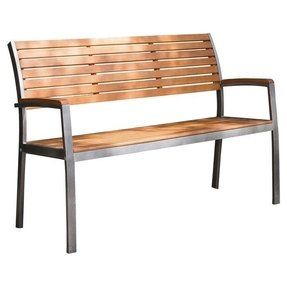 Phat Tommy Fushion Steel Wood Park Bench