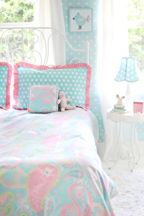 Pixie in Aqua Bedding Set