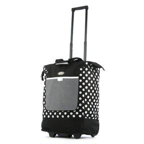 folding shopping bag with wheels foter. Black Bedroom Furniture Sets. Home Design Ideas