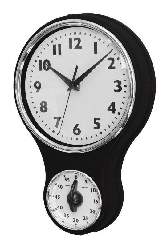 Merveilleux Retro Kitchen Wall Clock