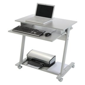 Small Computer Table On Wheels Ideas Foter