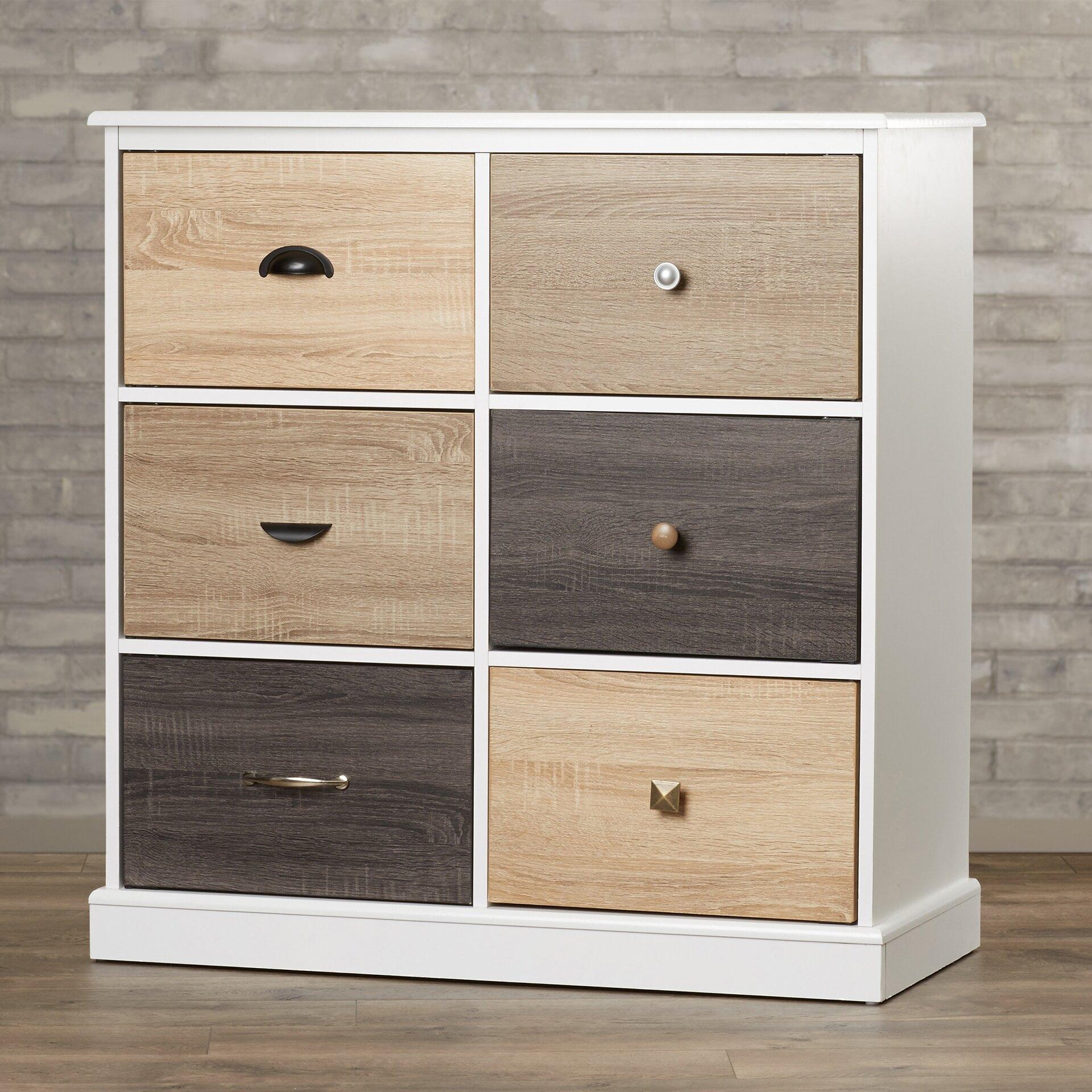 Etonnant Selby 6 Drawer Storage Chest