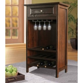 Siena 28 Bottle Single Zone Wine Credenza