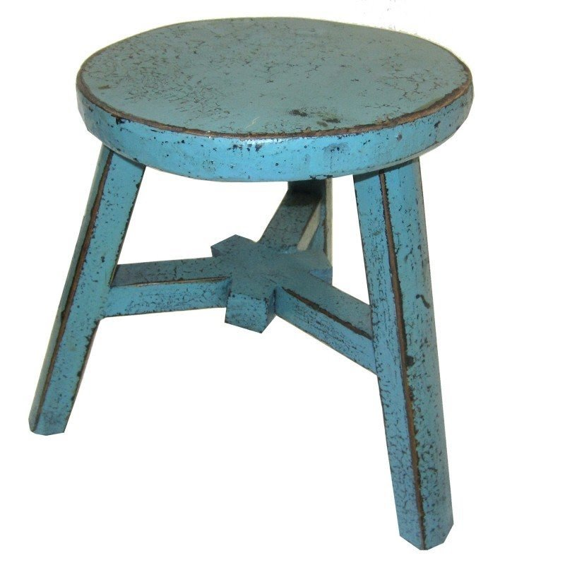 Small Wood Foot Stool