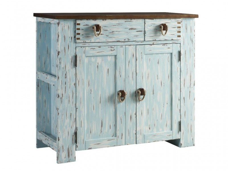 Charmant Tamarind Country Coastal Cabinet