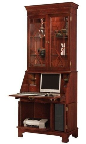 on garden hutch product with hill desk free pine shipping home rustic secretary