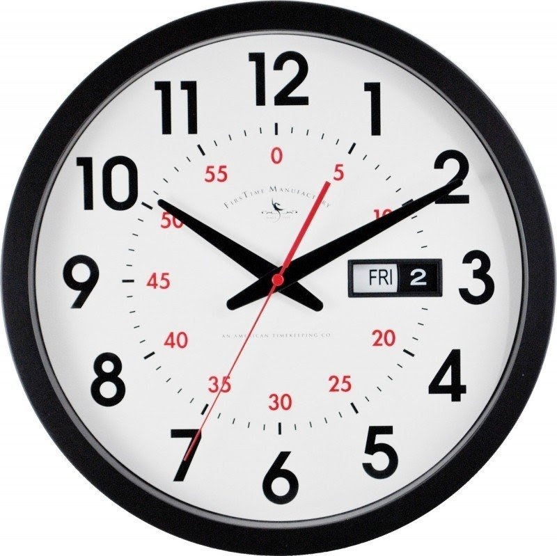 Day Date Wall Clock Ideas On Foter