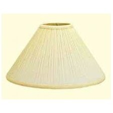 "21"" Mushroom Pleat Empire Lamp Shade"