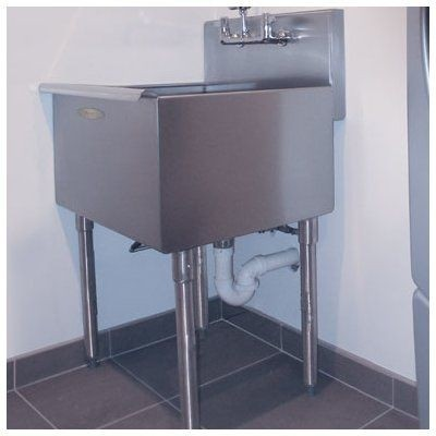 Stainless Steel Utility Sink With Legs   Ideas On Foter