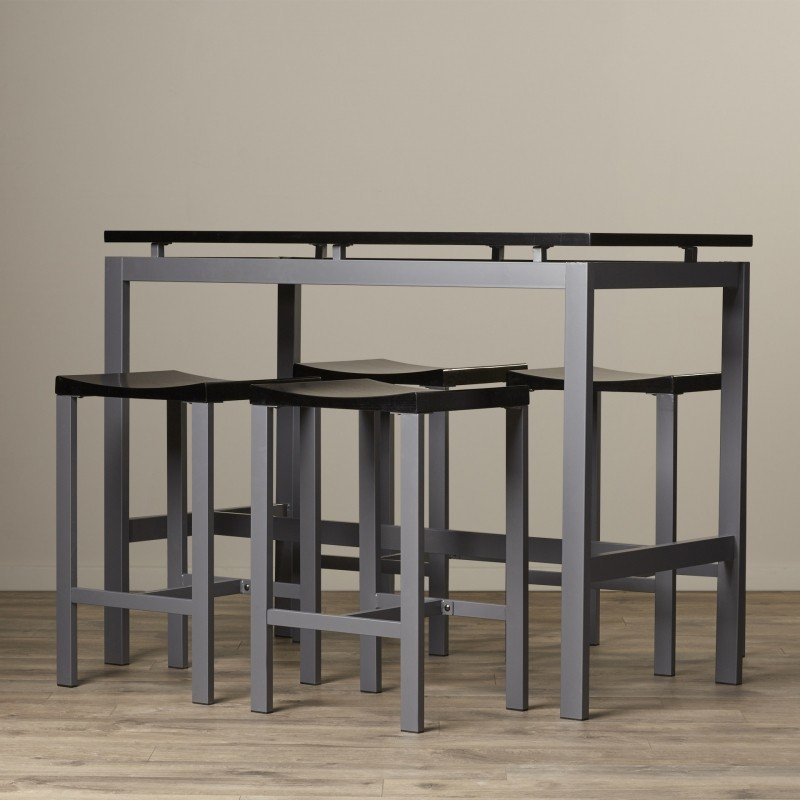 High Quality 5 Piece Pub Table Set