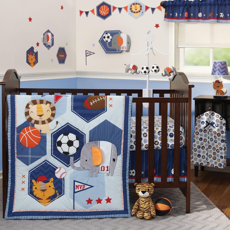 Baby League 3 Piece Crib Bedding Set