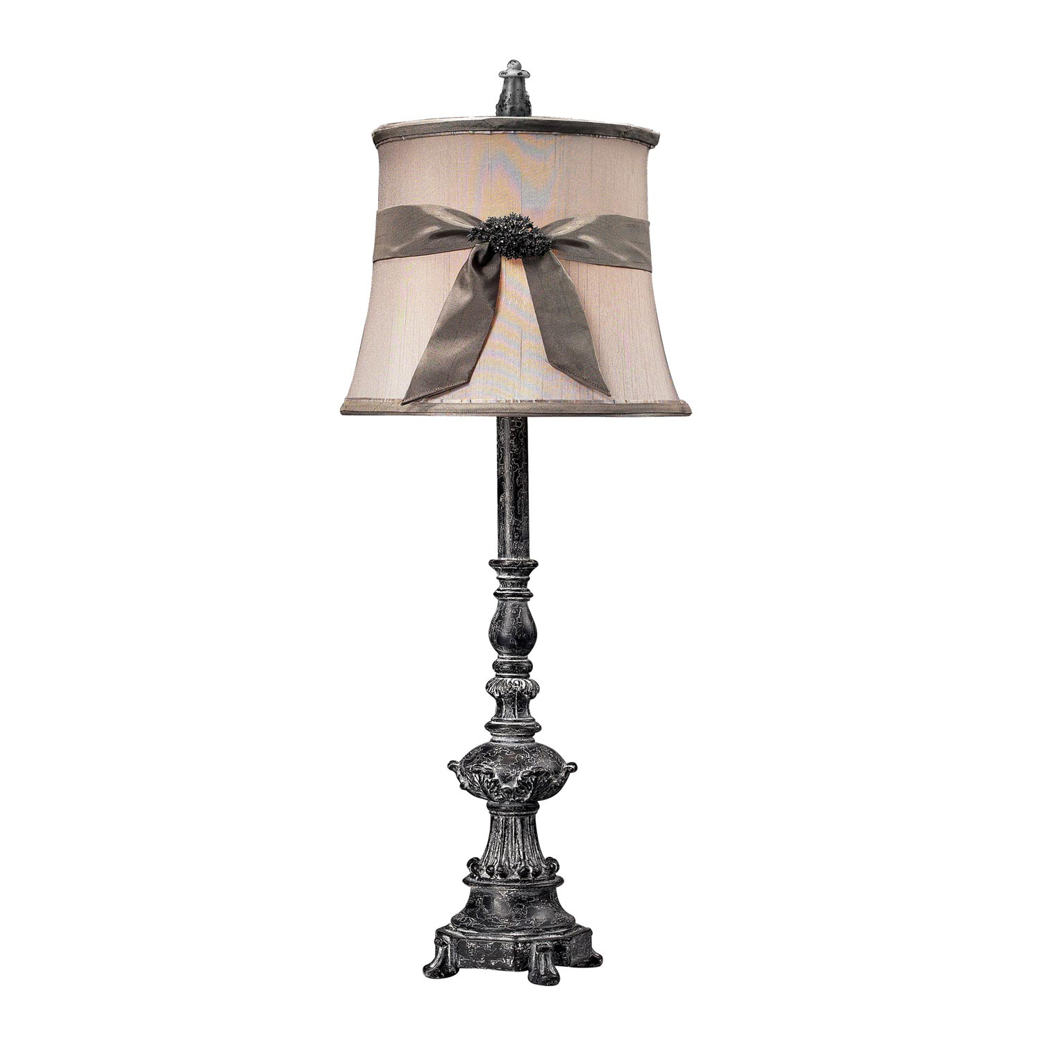 "Buffet 30"" H Table Lamp with Bell Shade"