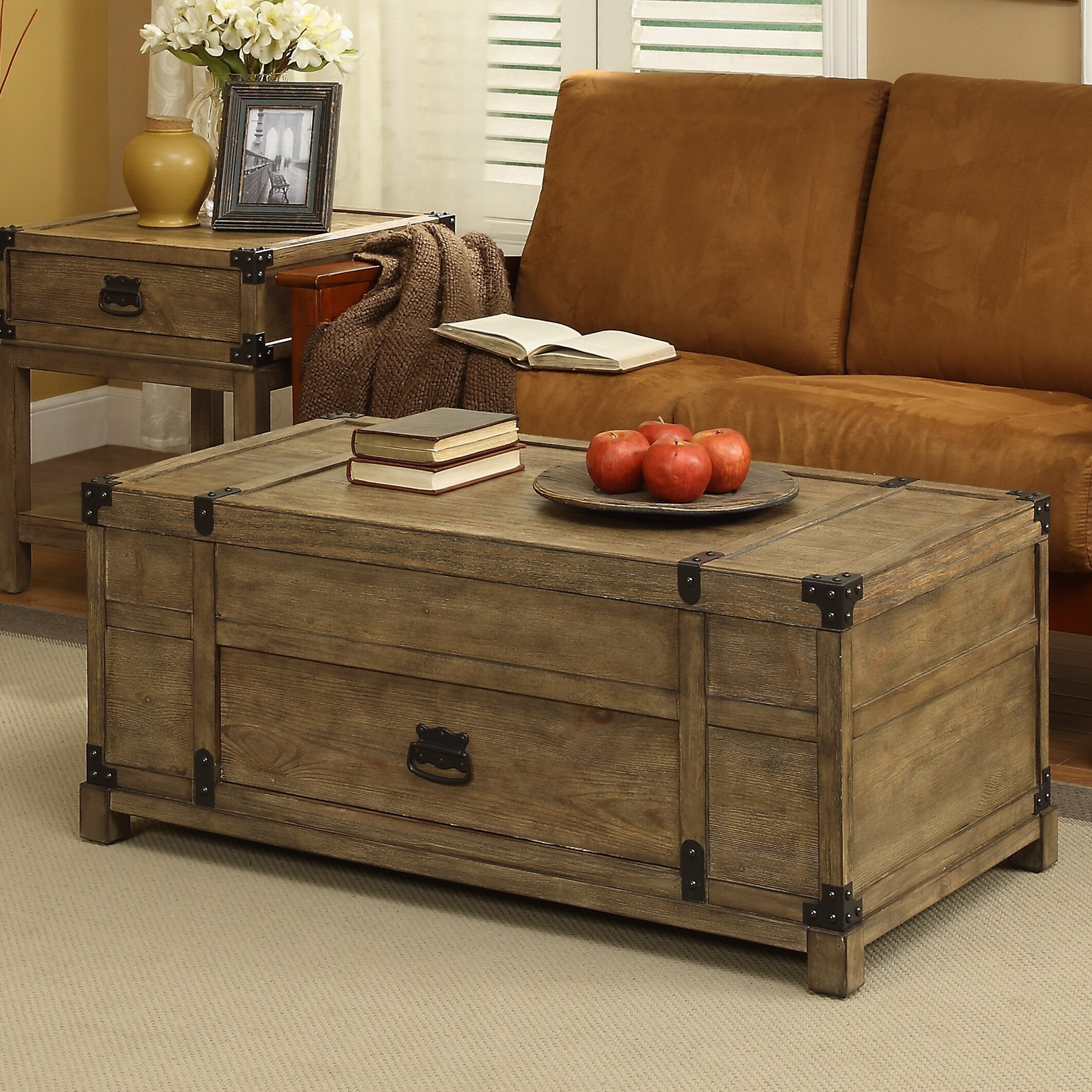 Distressed Trunk Coffee Table   Ideas On Foter