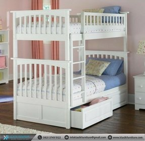 Columbia Bunk Bed with Storage