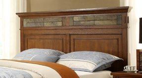 Craftsman Home Wood Headboard