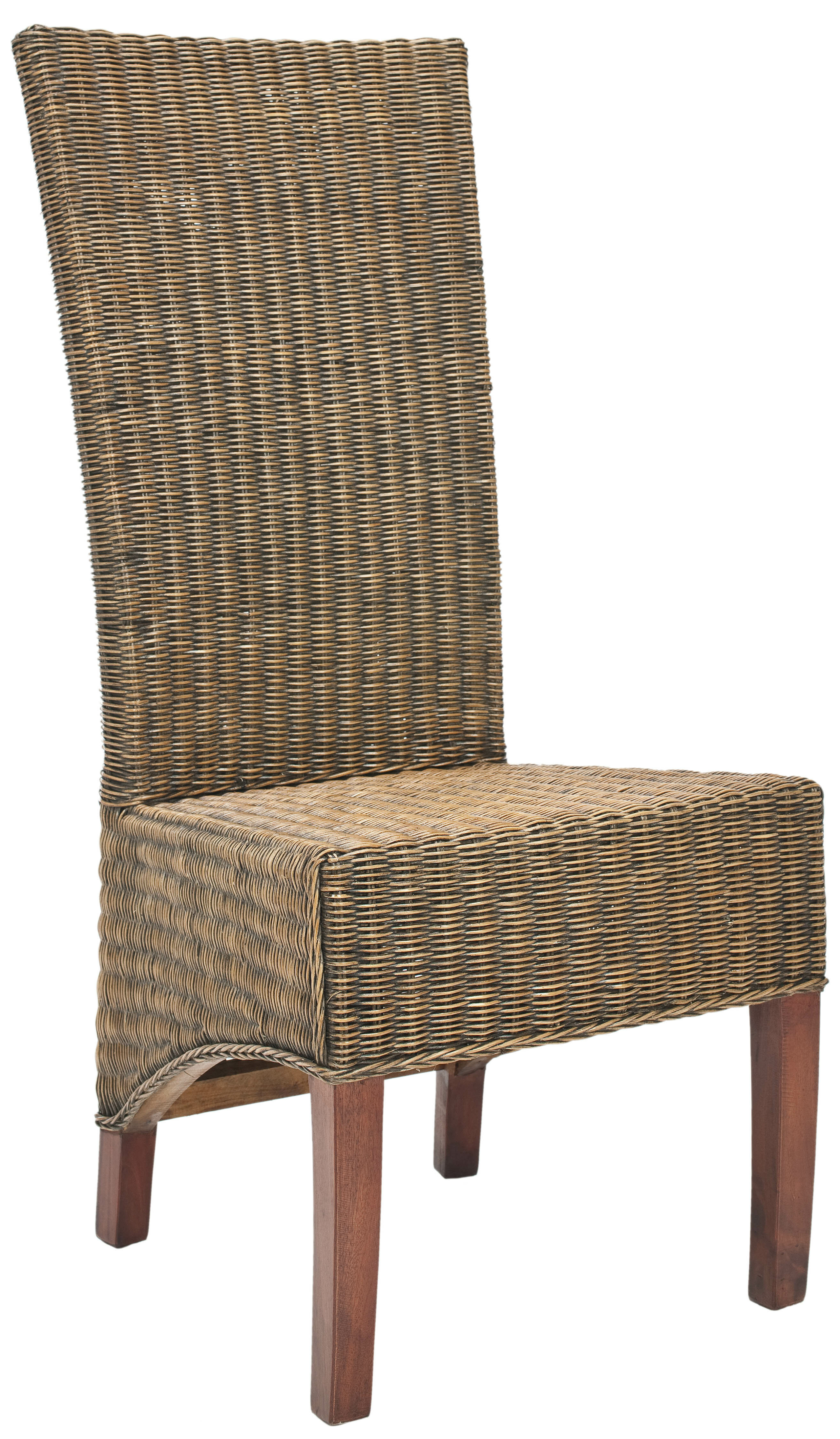 Gouldsboro Wicker Parson Chairs (Set of 2)