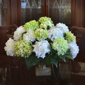 Hydrangea silk flower arrangements foter hydrangea silk flower arrangement mightylinksfo
