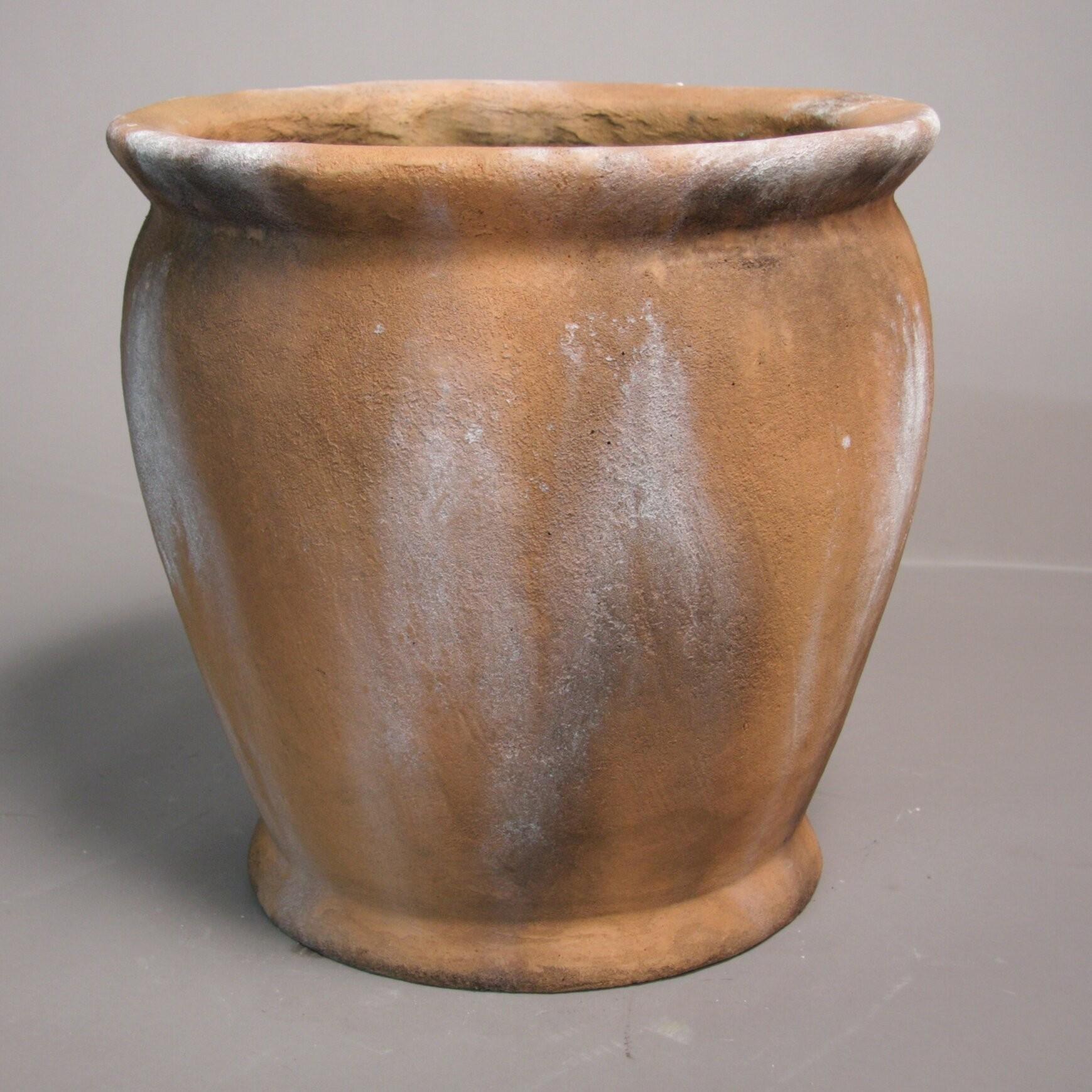 Succulent Planter Cactus Planter Vintage Brown Ceramic Planter Cachepot