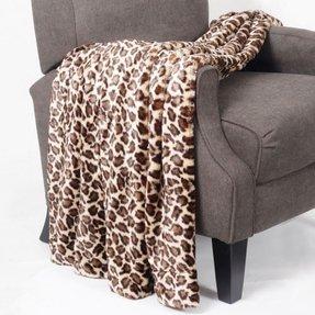 Leopard Print Throw Blanket Foter