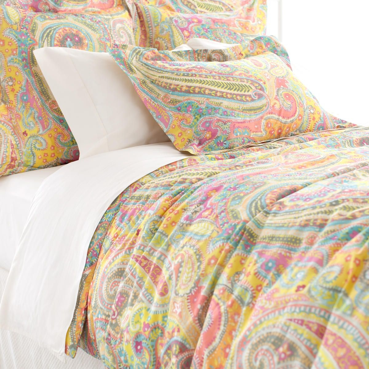 Lyric Paisley Duvet Collection