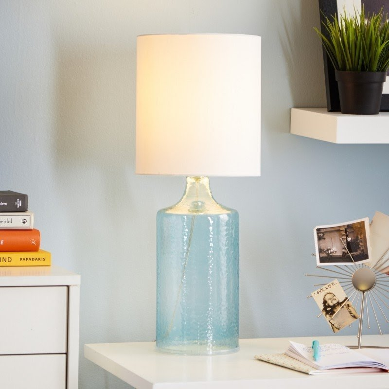 Malibu 21.5'' H Table Lamp with Drum Shade