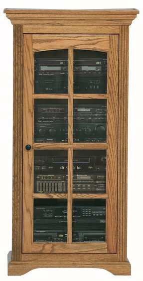 Oak Ridge Audio Cabinet