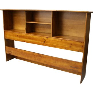 Oslo Wood Bookcase Headboard