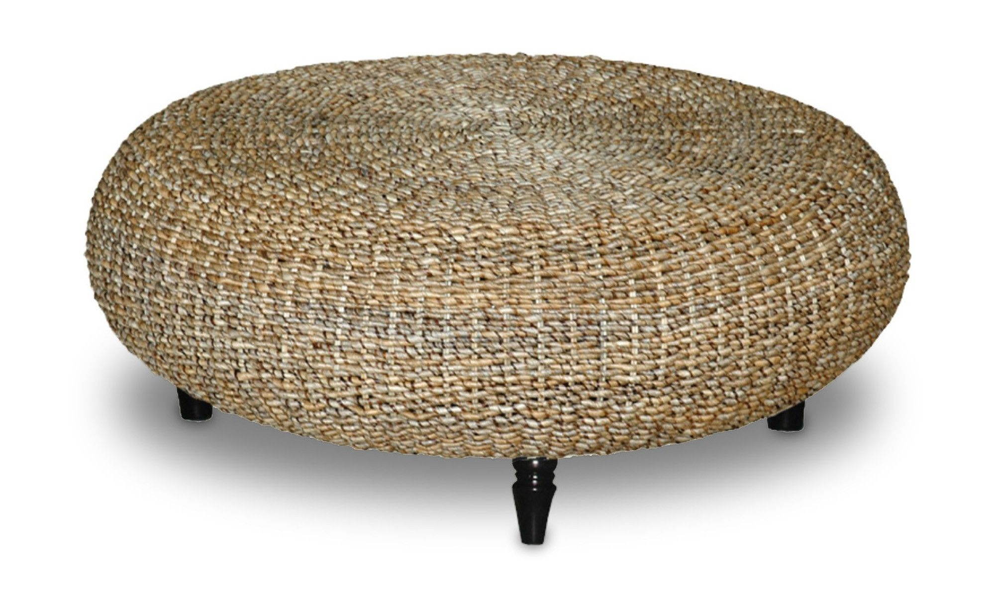 Exceptionnel Riau Round Abaca Coffee Table