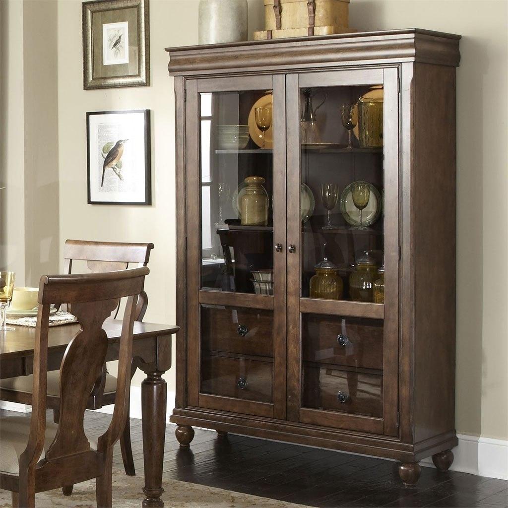 Amazing Rustic Traditions Curio Cabinet