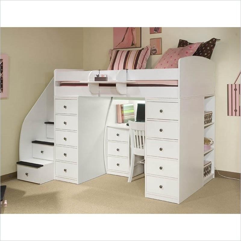 loft bed with storage foter rh foter com loft bed with storage and desk underneath bunk bed with storage and desk