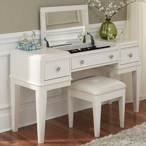 Desk And Vanity Combo. Stardust Vanity Girls Desk  Foter