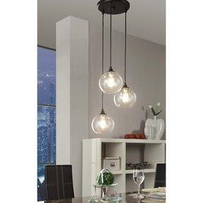 globe lighting chandelier. Uptown 3 Light Clear Globe Cluster Pendant Today 140 99 Lighting Chandelier G
