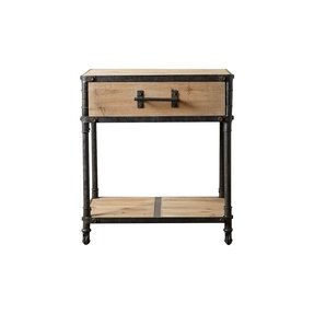 Bixel Industrial End Table